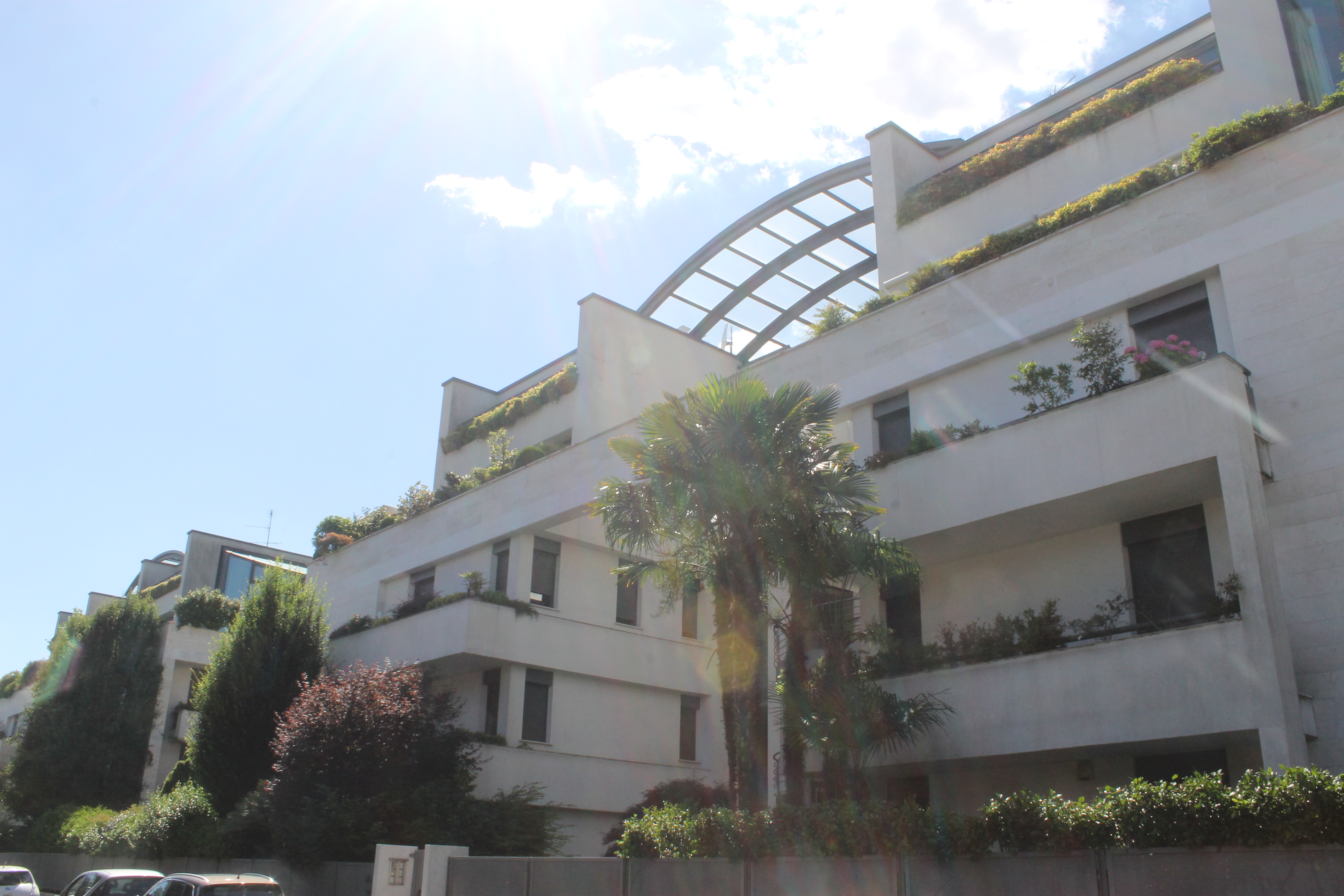 Appartamento con terrazzo a Mariano Comense