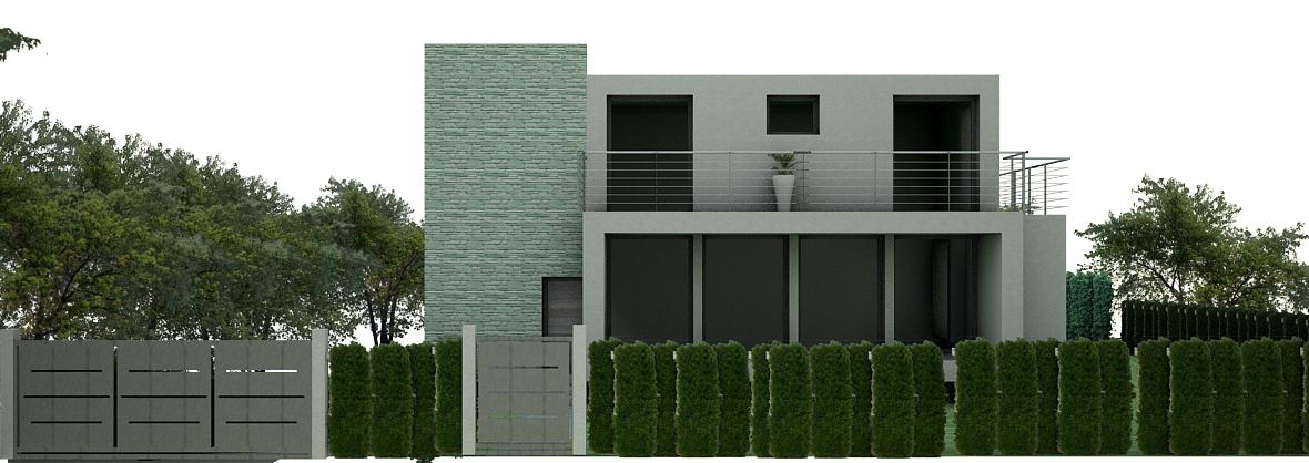 Nuova villa in costruzione a Cantu'