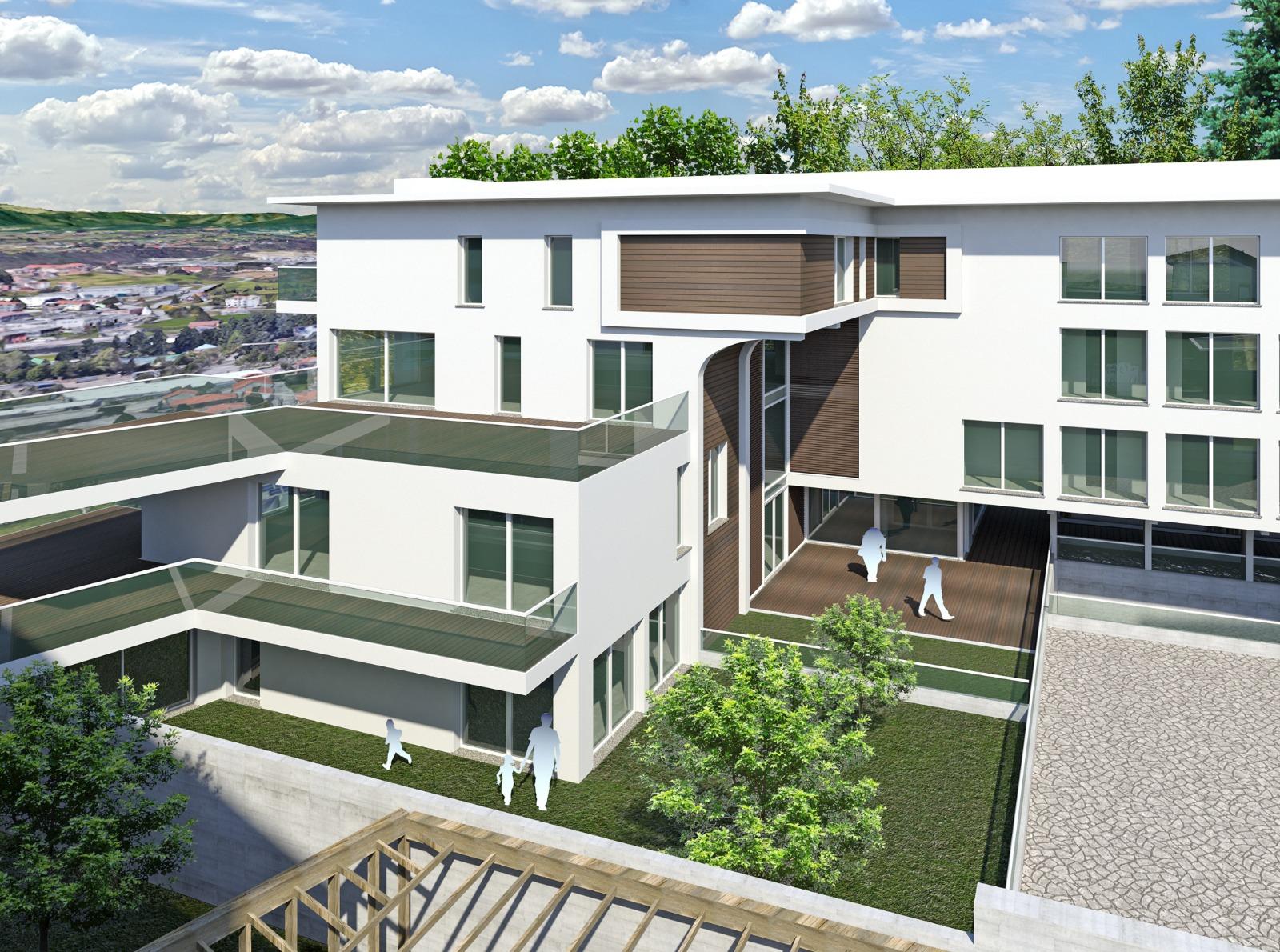 Nuovo appartamento con terrazzo in centro a Cantu'