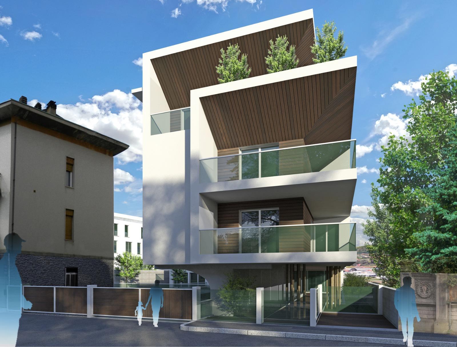 Nuovo appartamento con giardino privato in centro a Cantu'